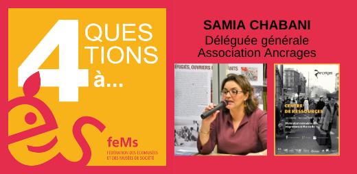 Samia Chabani - Diapo